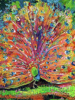 Ginette Callaway - Peacock Splendor Birds of Color