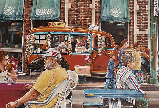 Peanut Factory by Lois Hogg