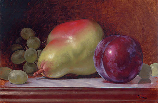 Pear and Plum by Timothy Jones