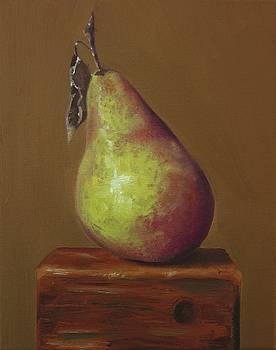 Pear Still Life by Brian Duey