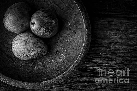 Pear Still Life in Black and White by Edward Fielding