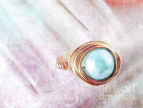 Pearl Cocktail Ring by Molly McPherson
