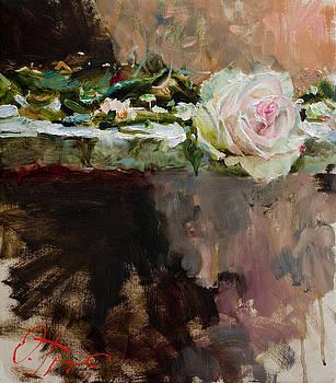 Pearl Rose by Oleg Trofimoff