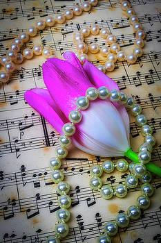 Pearls And Tulip by Garry Gay