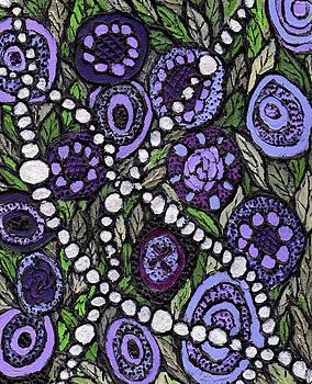 Pearls in the Garden by Wayne Potrafka