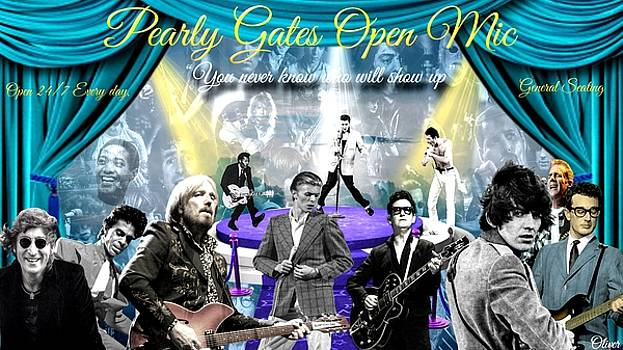 Pearly Gates Open Mic  by Bill Oliver