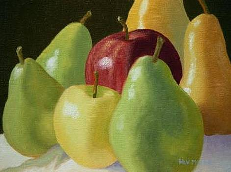 Pears And Apples by Thaw Malin III