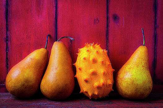 Pears And Asian Pear by Garry Gay