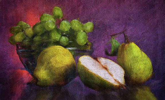 Pears and Grapes by Bland Lipscomb
