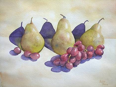 Pears and Grapes by Bobbi Price