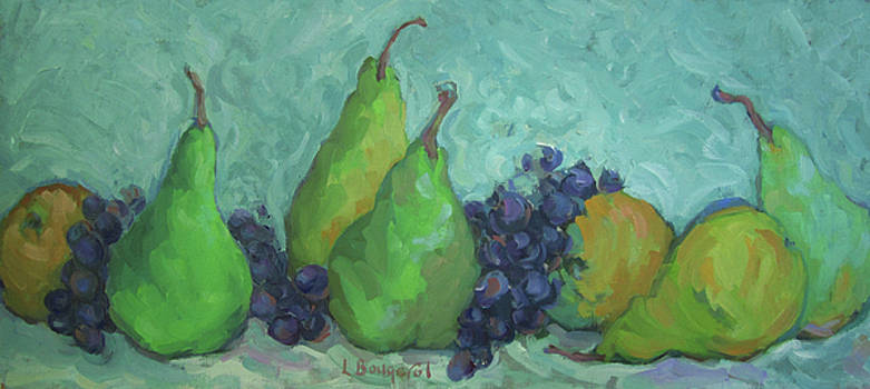Pears and Grapes  by Lynn Gimby-Bougerol
