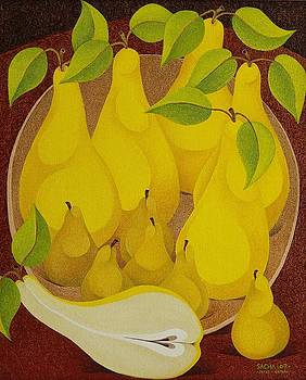 Pears and Pears by Sacha