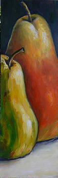 Pears II by Regina Slavin