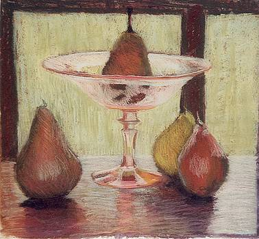 Pears in Depression by Jan Frazier
