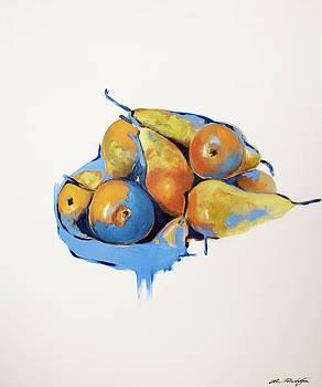 Pears by Lin Petershagen