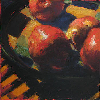 Pears on a Plate by Trudi Smith