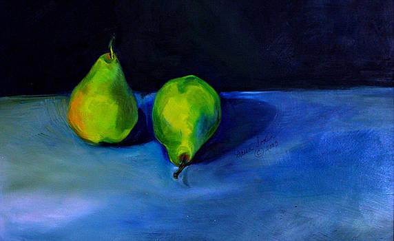 Pears Space Between by Daun Soden-Greene