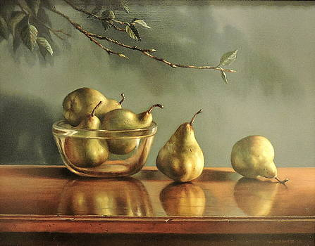 Pears by William Albanese Sr