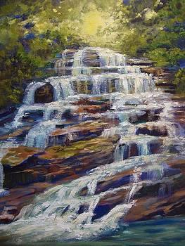 Pearson Falls by Kathy Brusnighan