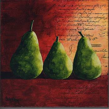 Peary Tale by Cindy Johnston