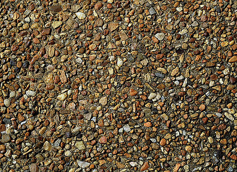 Pebble Abstract by Karen Harrison