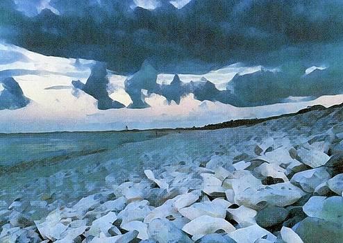Pebbled Beach by Bitten Kari