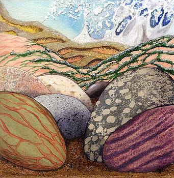 Pebbles on a Shore by Lynne Henderson