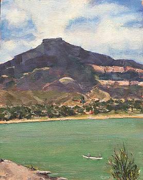 Pedernal Mountain by Richard Willson