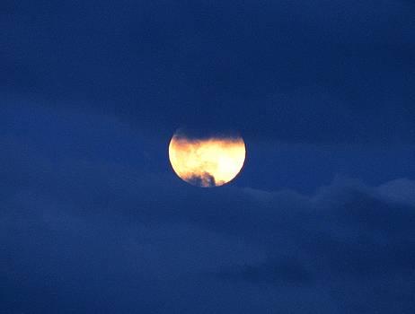 Peek-A-Moon by Chris Dunn