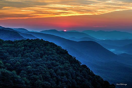Reid Callaway - Peeking Over Blue Ridges Pretty Place Chapel Overlook Art