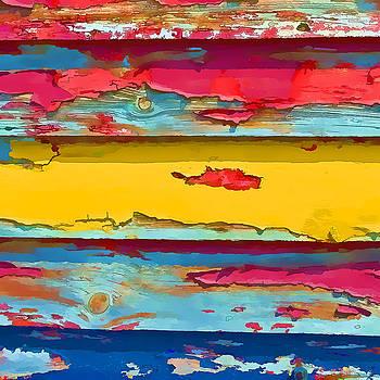 Peeling Paint  I by Gareth Davies