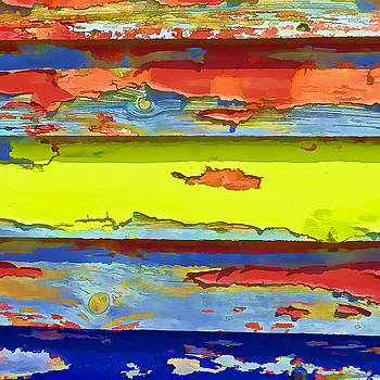 Peeling Paint  II by Gareth Davies