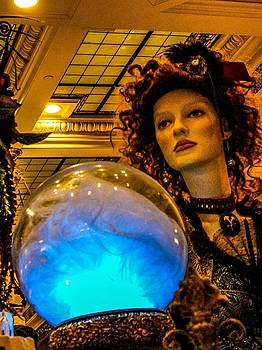 Peer Into The Crystal Ball by Rachel E Moniz