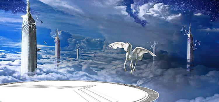 Pegasus by Antonello  Monni