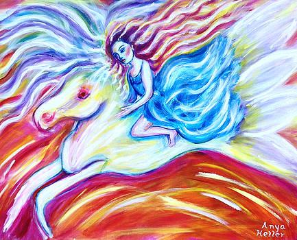 Pegasus by Anya Heller