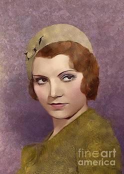 Mary Bassett - Peggy Shannon, Vintage Movie Star