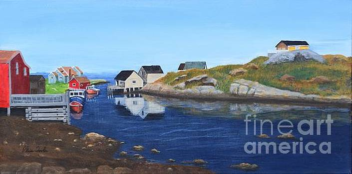 Peggy's Cove by Alicia Fowler