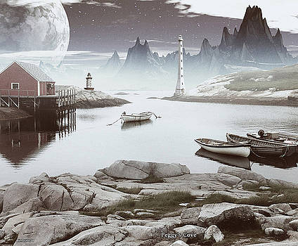 Peggy's Cove by David Jackson