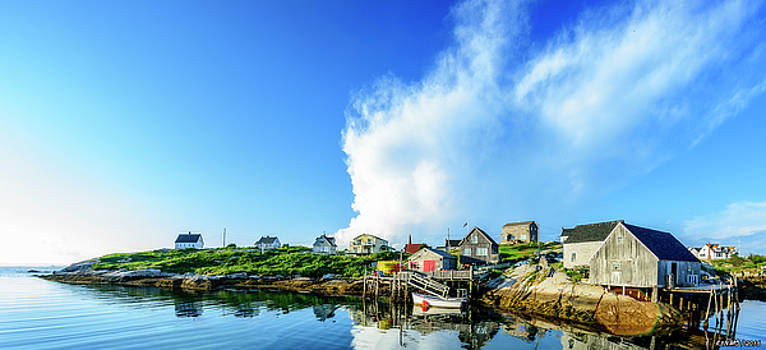 Peggys Cove by Ken Morris