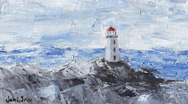 Peggy's Cove Lighthouse by Jamie Frier