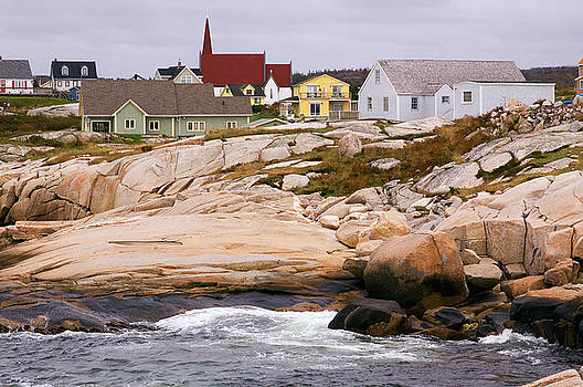 Peggy's Cove by Linda McRae