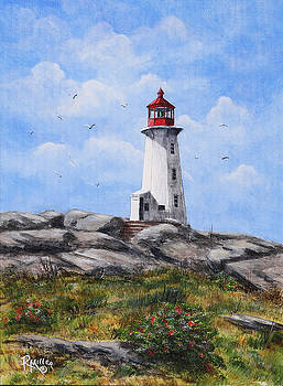 Peggys Cove Nova Scotia Canada by Rita Miller