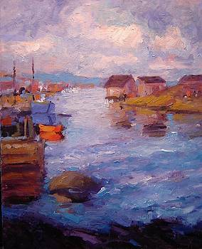 Peggy's Cove by R W Goetting