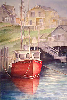 Peggy's Cove by Rosie Brown