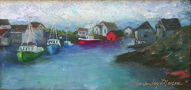 Peggy's Cove by SharonJoy Mason