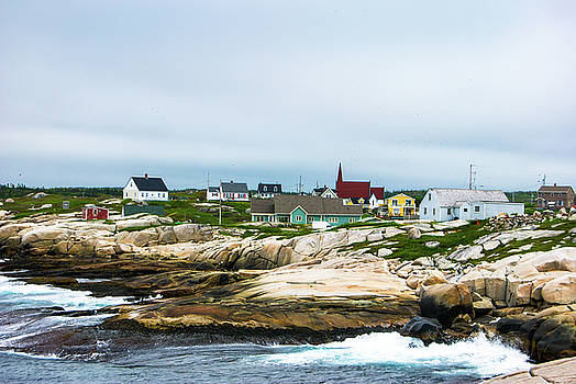 Peggy's Cove Shoreline by Gene Norris