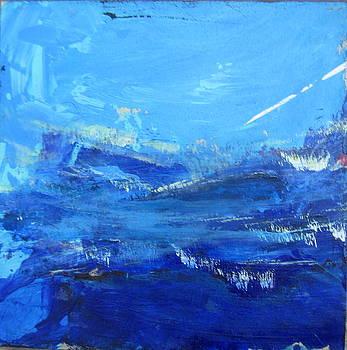 Peinture abstraite sans titre 10 by Francine Ethier