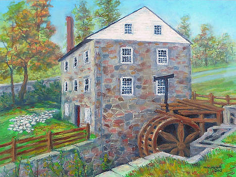 Peirce Mill in Washington DC by Nancy Heindl