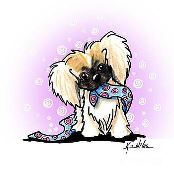 Pekingese Puppy by Kim Niles