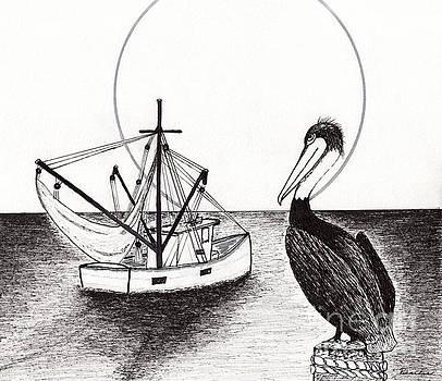 Ricardos Creations - Pelican Fishing Paradise C1